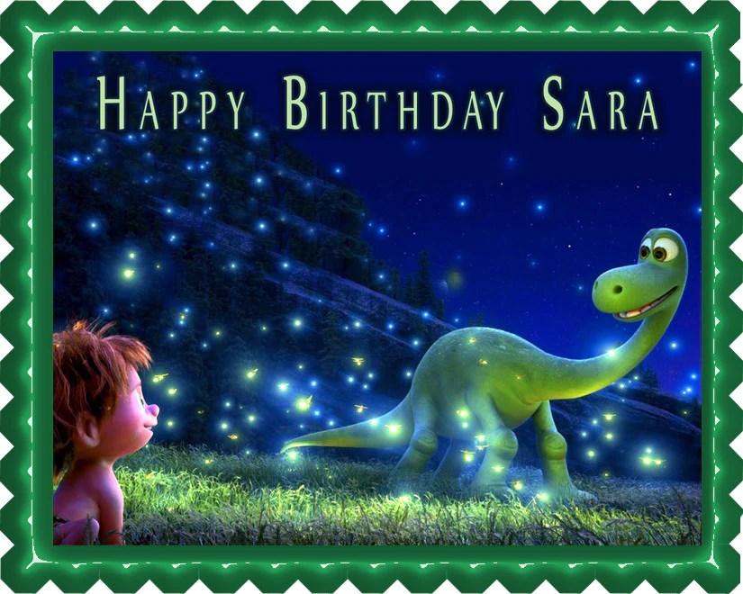 The Good Dinosaur Edible Cake Topper Or Cupcake Topper Decor Edible Prints On Cake Epoc