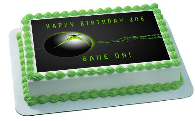 Video Game Systems Edible Cake Topper Or Cupcake Toppers Edible Prints On Cake Epoc