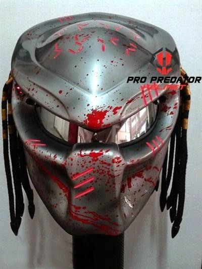 Version 2 Custom Handmade Predator Motorcycle Dot Approved