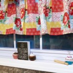 Patchwork Kitchen Farmhouse Valance Jeff Steph S Stuff