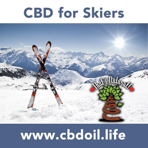 CBD for skiers, CBD for sunburn, CBD for pain, Endocannabinoid Deficiency - How can supplementing with CBD help your Endocannabinoid System (ECS)?  Cannabinoids, endocannabinoids, phytocannabinoids - research showing CBD (Cannabidiol) can help with a variety of pain, inflammation, and disease.  See more about legal hemp CBD from That's Natural at www.cbdoil.life and cbdoil.life, legal in all 50 states at www.thatsnatural.info, That's Natural legal CBD hemp-derived CBD