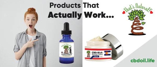 CBD products that actually work - CBD Reviews - hemp-derived CBD from That's Natural full spectrum phytocannabinoids entourage effect - Precious plant compounds in That's Natural full spectrum CBD-rich hemp oil include other cannabinoids besides CBD (CBDA, CBC, CBG, CBN), terpenes (beta-myrcene, linalool, d-limonene, alpha-pinene, humulene, beta-caryophyllene) and polyphenols - See more about safe and effective hemp-derived CBD oil from Thats Natural at www.cbdoil.life and cbdoil.life and www.thatsnatural.info - legal hemp CBD, legal in all 50 states