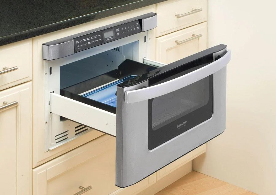 kb6524ps sharp easy open stainless steel microwave drawer oven