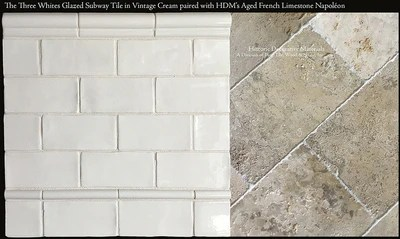 hdm s historic whites glazed 3 x 6 subway tile molding collection the quarter round molding