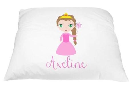 personalized kid s princess pillowcase microfiber polyester 20 by 30 inches pillow princess princess pillows for girls toddler princess pillow