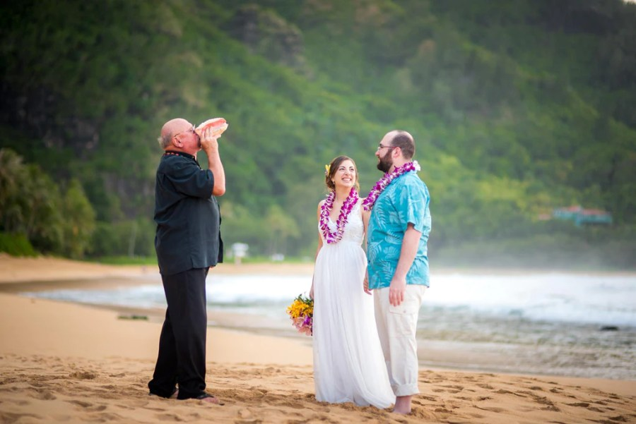 Image result for Kauai is a tropical Pacific paradise wedding