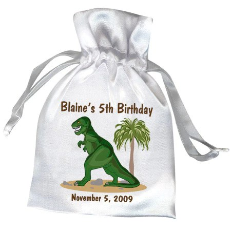 Dinosaur Party Favor Bag T Rex Mandys Moon
