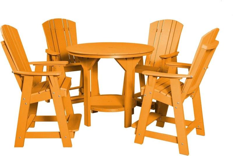 Wildridge Outdoor Balcony Pub Table Set Rocking Furniture