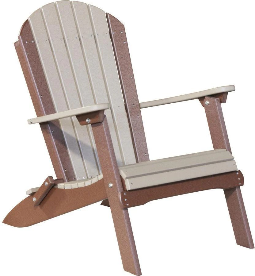 High Quality Phat Tommy Recycled Polywood Deluxe Folding Adirondack ChairPhat Tommy  Recycled Polywood Deluxe Folding Adirondack Chair
