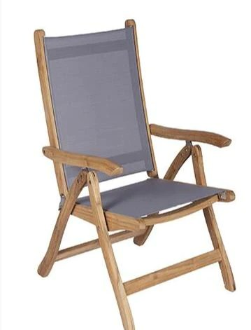 royal teak collection florida outdoor patio sling chair lead time to ship 7 to 10 weeks
