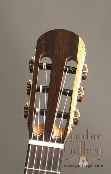 Matsuda Guitar Used African Blackwood Classical Guitar