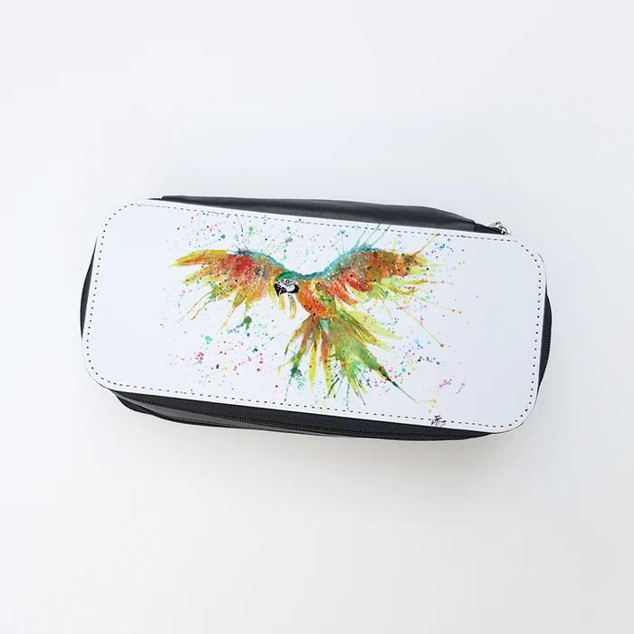 a4e9470435 Ian Parrot Las Makeup Bag Jamie Taylor Art