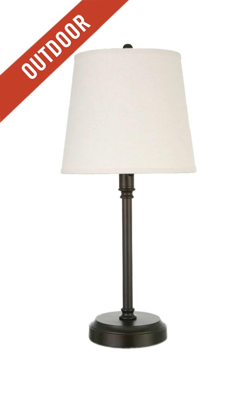 Capri Outdoor Cordless Lamp Modern Lantern