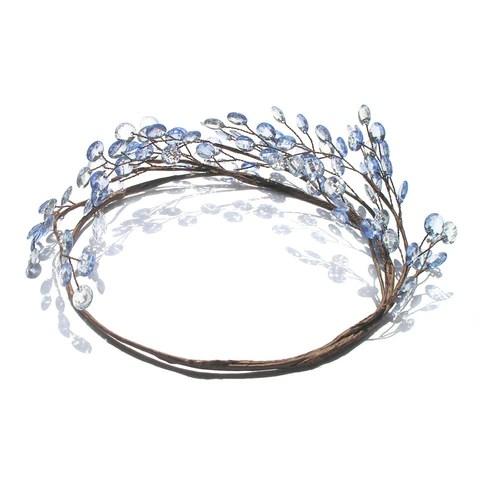 rustic flower crown bridal flower crown wedding hair tiara one curtain road
