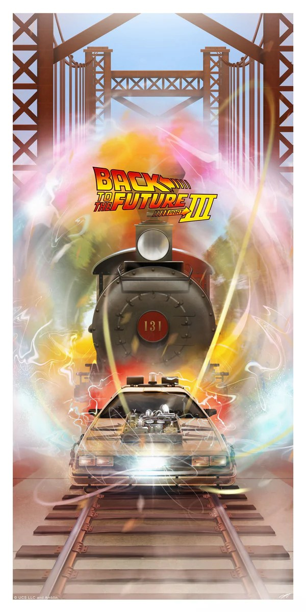back to the future limited edition art