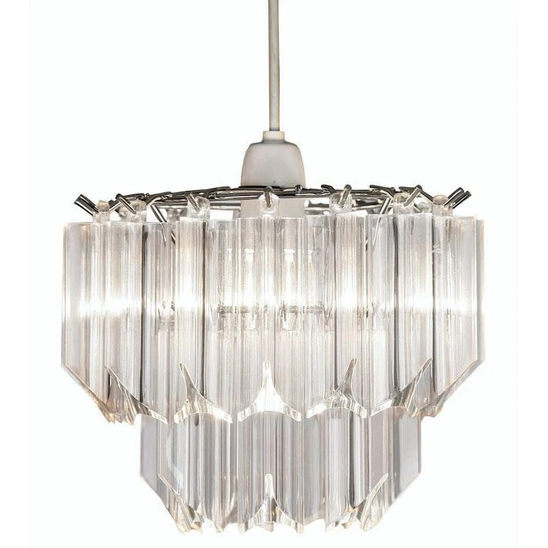 acrylic clear non electric pendant ceiling light 229 ne