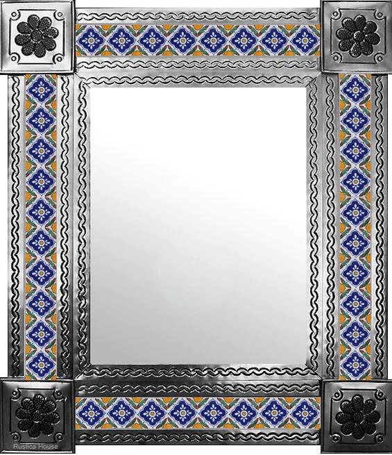 tin tile mirror puerto vallarta