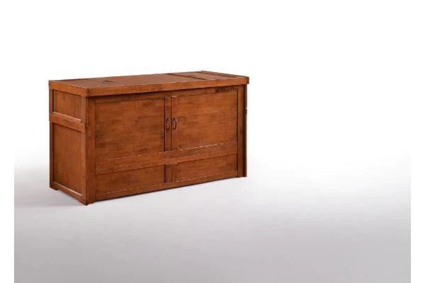 murphy cube solid hardwood cabinet bed
