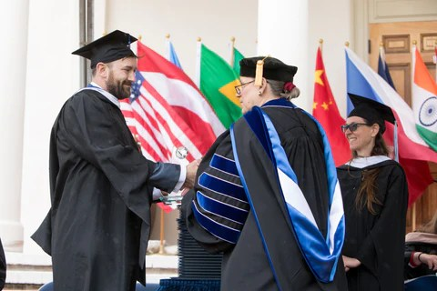 Sean Brownlee MIIS Alumni Achievement Award 2019 Monterey California