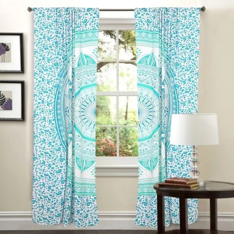 Mandala Hippie Tapestry Curtains Amp Window Door Drapes Valances