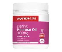 nutra life evening primrose oil 1000mg 180caps the healthy guru vitamins online