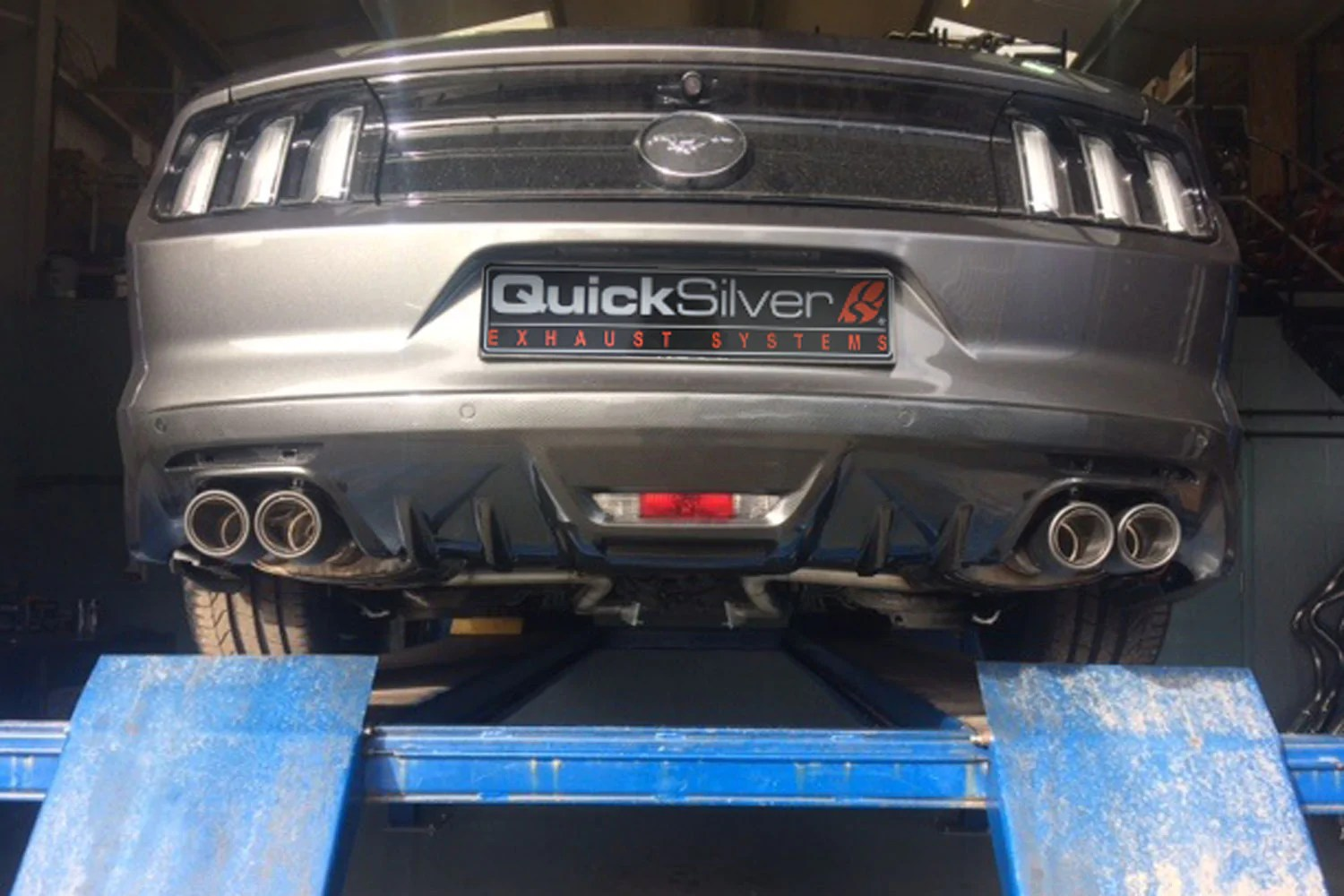 ford mustang 2 3 ecoboost sound architect active valve sport exhaust 2015 18