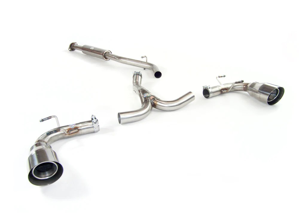 subaru brz sport exhaust system 2012 on