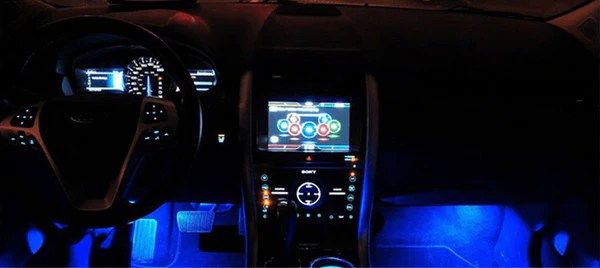 Multi-colour 16' LED Strip With