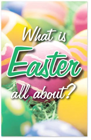 Easter Tracts Moments With The Book
