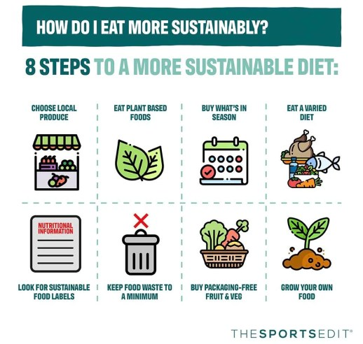 Sustainable Eating: Environment-Friendly Food Guide | The Sports Edit
