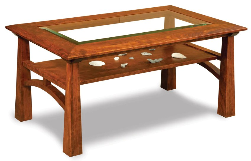 https www plainandsimplefurniture com products artesa glass top coffee table w shelf