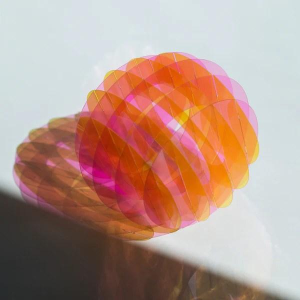 Multicolored Desk Lamp