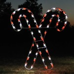 Outdoor Candy Cane Lights Large Christmas Decorations Holidaylights Com
