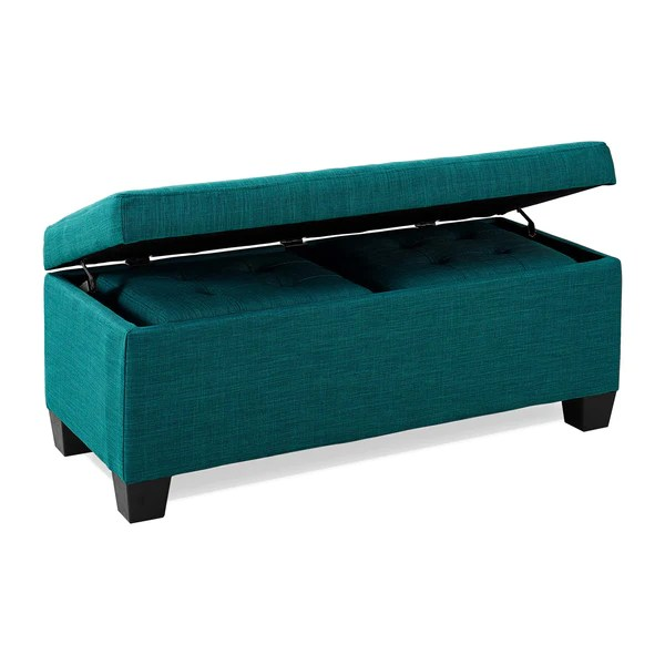 Teal Ottoman Coffee Table