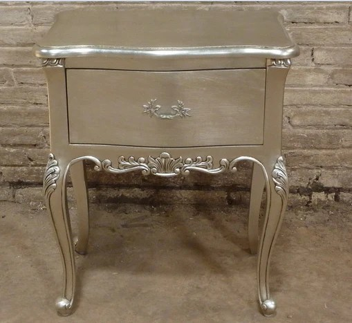 French Style Bedside With One Drawer Jack Horner Interiors
