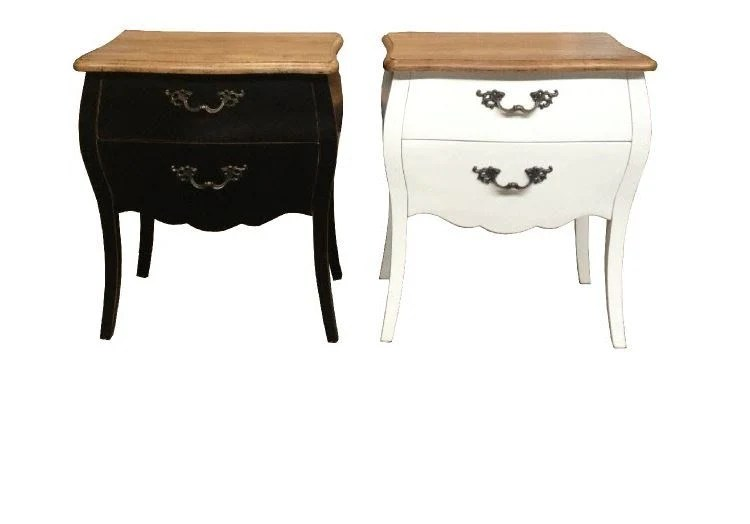 French Style Bedside Cabinet Jack Horner Interiors