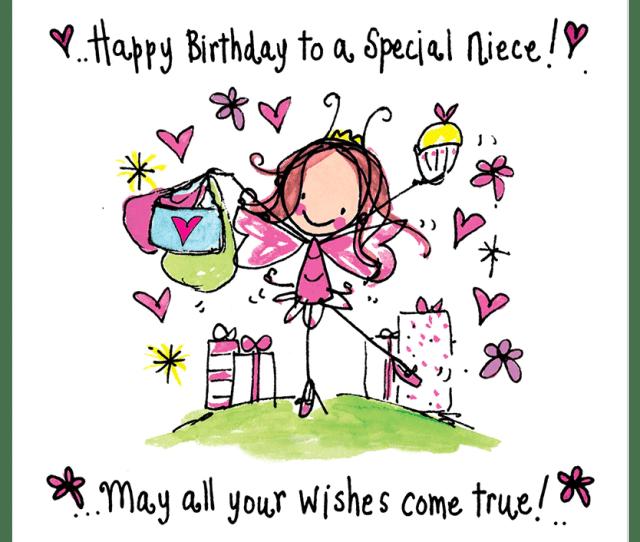 Happy Birthday To A Special Niece Juicy Lucy Designs