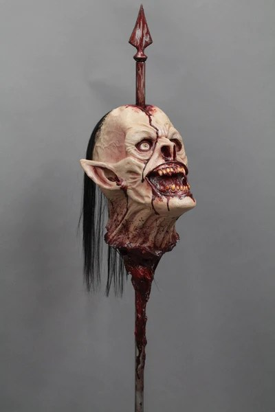 Wrath Head On A Spike Prop Dapper Cadaver Props