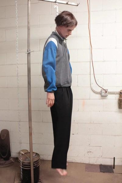 Hanging Frank Body Prop Dapper Cadaver Props