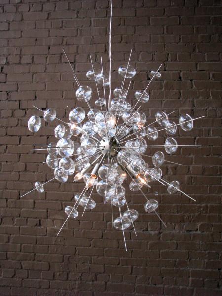 Solaria Bubbles Sputnik Chandelier