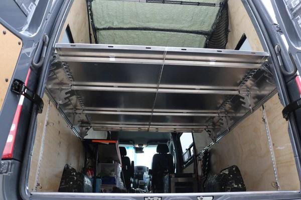 Van Compass Flip And Load Hinged Platform Bed 2007