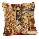Dada Bedding Golden Christmas Throw Pillow Cover Tapestry Cases 16 X Dada Bedding Collection