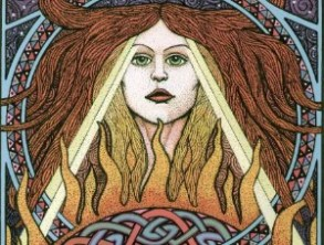 Image result for brigid goddess art