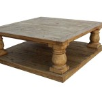 Postobello Large Turned Leg Coffee Table Built In Reclaimed Wood Coffee Tables Handcrafted From Reclaimed Timbers Recycled From Old Buildi Mortise Tenon