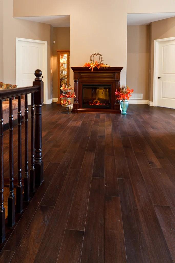 hickory espresso hardwood flooring