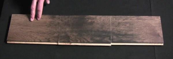 Width Variation in hardwood flooring