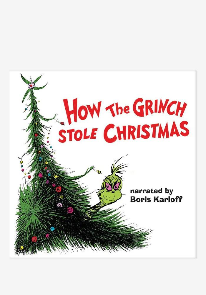 Boris Karloff Soundtrack How The Grinch Stole Christmas