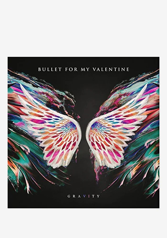 Bullet For My Valentine Gravity With Autographed CD