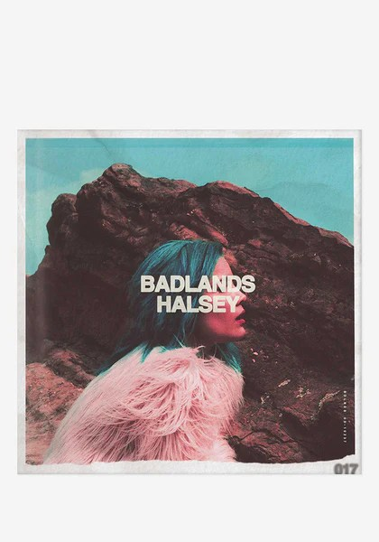 Halsey Badlands LP Newbury Comics
