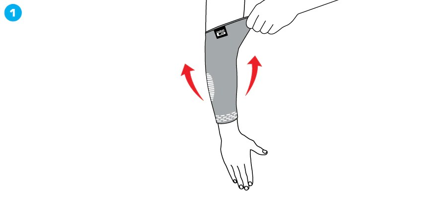 Elbow Support Silicon elbow brace for pain